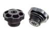 """03-474 ABS Kunststoff Druckventil / Aufblasventil mit G3/4"""" Gewinde"""