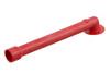 03-580 PVC/PUR Kunststoff Ventilrohr, 90 Grad, Ø13 mm