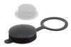 03-714 PVC protection Cap with attachment ring - Vented