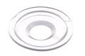 PVC-Scheibe für Druckknopf 02-331, 02-431. Macht Schweißung von Nylon Druckknöpfe 02-331, 02-431 auf Vinyloberflächen möglich.