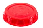 PEHD threaded plastic Cap with Gasket, 98 mm