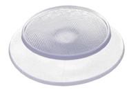 PVC Kunststoffknopf 22.7 mm. HF/Ultraschall-schweißbarer Kunststoffknopf für Regenjacken, Schutzausrüstung oder andere Bereiche, in denen einfache und kostengünstige Befestigungen erforderlich sind.