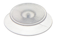 PVC Plasticknopf 13.9 mm. HF/Ultraschall-schweißbarer Kunststoffknopf.