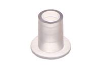 Kunststoff Schlauchanschluß, Gerader für 10mm Schlauch. Gerader, kleiner schweißbarer Schlauchanschluß für medizinische und allgemeine Zwecke.