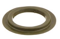 Schweres Kunststoff Rundöse 40/67 mm. 40/67 strapazierfähige / schweres Kunststoff Rundöse mit eckigen Flanken. Für Hoch Frequenz (HF) schweißen optimiert.