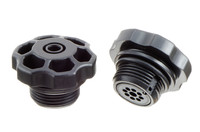 """ABS Kunststoff Druckventil / Aufblasventil mit G3/4"""" Gewinde. ABS Druckventil / Aufblasventil. Eignet sich für Stausäcke, bojen und ähnliche aufblasbare Produkte bis ca. 0,3 bar."""