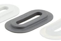 04-204 Kunststofföse, Oval, 9/42 mm