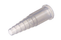 """09-739 Tube Connector, Stepped for 6.3 mm (1/4"""") OD medical tube"""