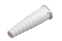 """09-737 Connecteur de tube, étagé pour tube OD de 6,3 mm (1/4"""")"""