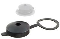 03-711 Capuchon de protection en plastique avec anneau de fixation.