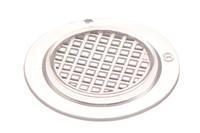 Œillet d'aération. L'œillet perméable à l'air peut par exemple être utilisé avec du matériel de filtrage.
