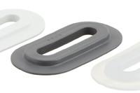 04-204 Ovale en PVC, 9/42 mm