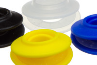 Plastic snap grommet Set, Ø12 mm. Plastic snap grommet for reinforcement of 12 mm holes in textiles, awnings, tarpaulins, banners etc. Can be inserted manually.