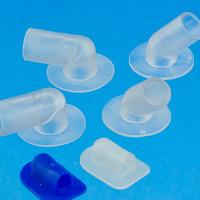 Kunststoff Winkelanschlüße und Winkelflanchen für Hochfrequenzschweißen (HF Schweißen)