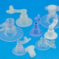 Aufblasventile für aufblasbare Artikel. Kunststoff optimiert für Hochfrequenzschweißen (HF Schweißen)