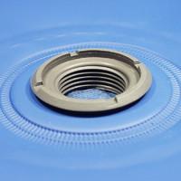 Gewindeflansch im kunststoff für Hochfrequenzschweißen (HF Schweißen)