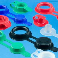 Orifice / valve de remplissage en plastique soudable par Haute Frèquence (HF)