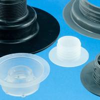 Plastic filler flanges for HF Welding