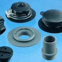 Accessories for modular plastic valves