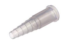 """Kunststoff schlauchverbinder  mit Schlauchstop für 6,3 mm (1/4"""") OD schlauch"""