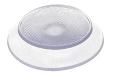 PVC Kunststoffknopf 22.7 mm