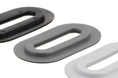 Ovale Kunststofföse, 13/51 mm