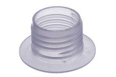 Kunststoff Schraubflansch, 34 mm
