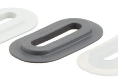 Kunststofföse, Oval, 9/42 mm