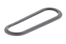 PVC/PUR Kunststofföse, Oval, 24/88 mm