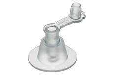 PVC Ventil, normal, mit Stöpsel, 9mm