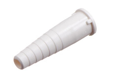 """Tube Connector, Stepped for 6.3 mm (1/4"""") OD tube"""
