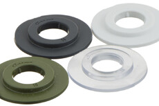 Weldable plastic Eyelet , Heavy, 11/27 mm, Stacked