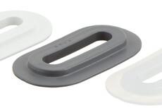 PVC Eyelet Oval, 9/42 mm