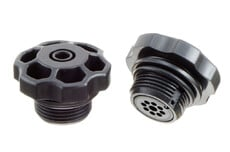 ABS plastic Pressure / Inflation Valve with G 3/4 inch pipe thread