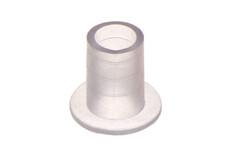 Bride de tuyauterie en plastique PVC, droite