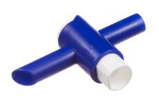 Valve transversale en T PVC/PE