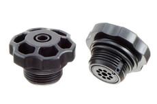 Valve de pression / gonflage en plastique ABS avec filetage G3/4