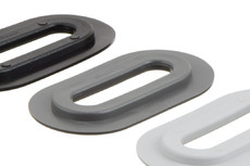 Œillet en plastique ovale, ovale, 13/51 mm
