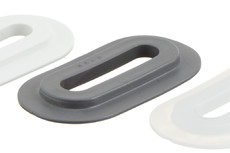 Ovale en PVC, 9/42 mm
