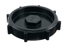 Large, heavy duty HDPE Cap with Gasket, 146 mm