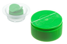 PE plastic screwcap with Wings, 25 mm