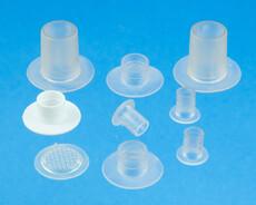 Kunststoff Schlauchanschlüße / Anschlußflanschen für medizintechnisches anwendungen