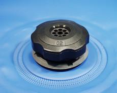 Kunststoff Vakuumventil für Behälter und aufblasbare Artikeln