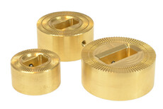 HF electrodes for High Frequency welding of plastic and PVC components