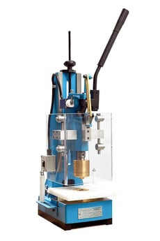 Manual eyelet-machine EP# for punching and welding PVC and plastic eyelets