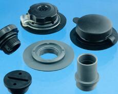 Accessories for modular plastic valves