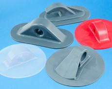 Passe fils et Point d'ancrages plastique pour soudure HF, Haute Frèquence