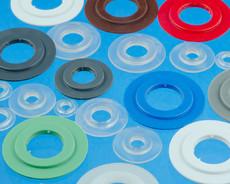 Oeillet plastique rond pour soudage Haute Frèquence (HF)