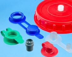 Diverse ventiler i plaststøbt kvalitet