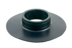 """PVC Flansch A. HF/Ultraschall-schweißbarer Flansch mit 3"""" Bohrung."""